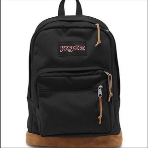 black jansport backpack